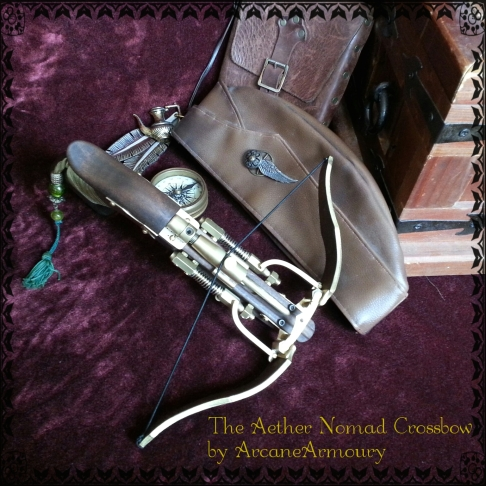 Aether Nomad inspired crossbow design by ArcaneArmoury