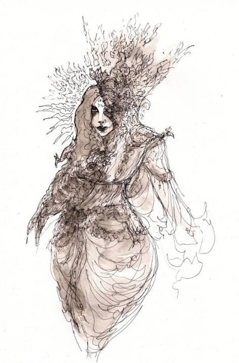 Maour Devi by the artist BlueMillenium