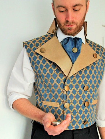 Well Groomed... this gorgeous waistcoat is by Dreadnought Designs